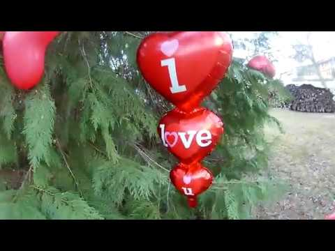 WE LOVE VALERIA SHOW#VLOG#Валерия запускает в небо#огненное#сердце#шарики#валериялюбитшарики