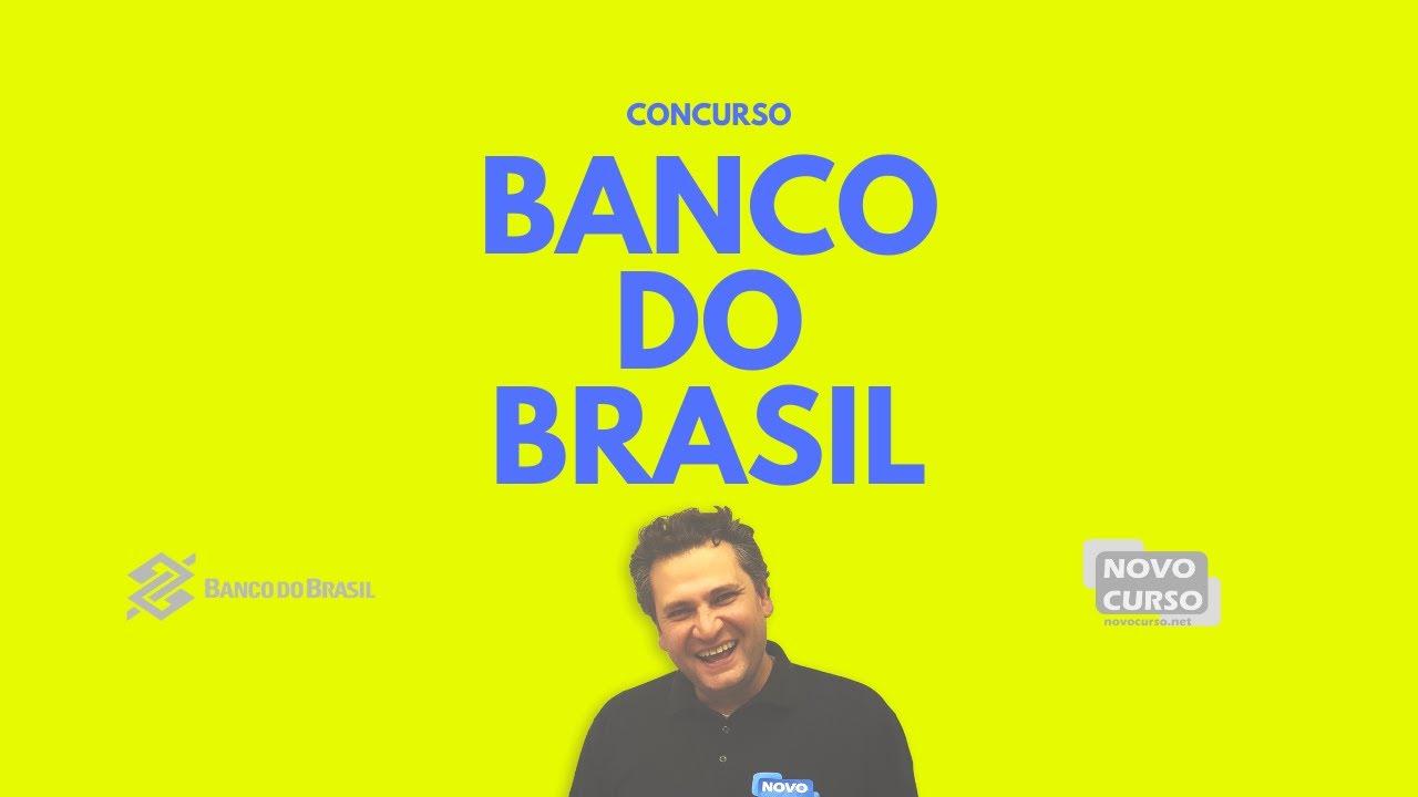 Concurso Banco do Brasil 2020