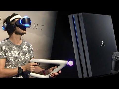 FarPoint PlayStation VR sur PS4 Pro, nos impressions
