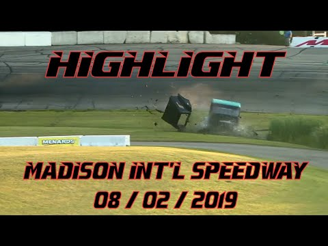 Highlights from Madison Int'l Speedway - 8/2/19