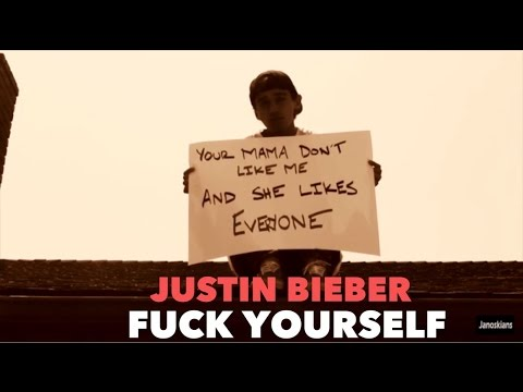 JUSTIN BIEBER- FUCK YOURSELF (Love Yourself) parody