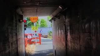 JR貨物地下道より 一人ひとりの思いを、届けたい JR西日本