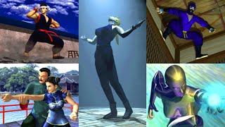 Virtua Fighter CG Portrait Series (1995) The COMPLETE Collection! / SEGA Saturn / iPlaySEGA