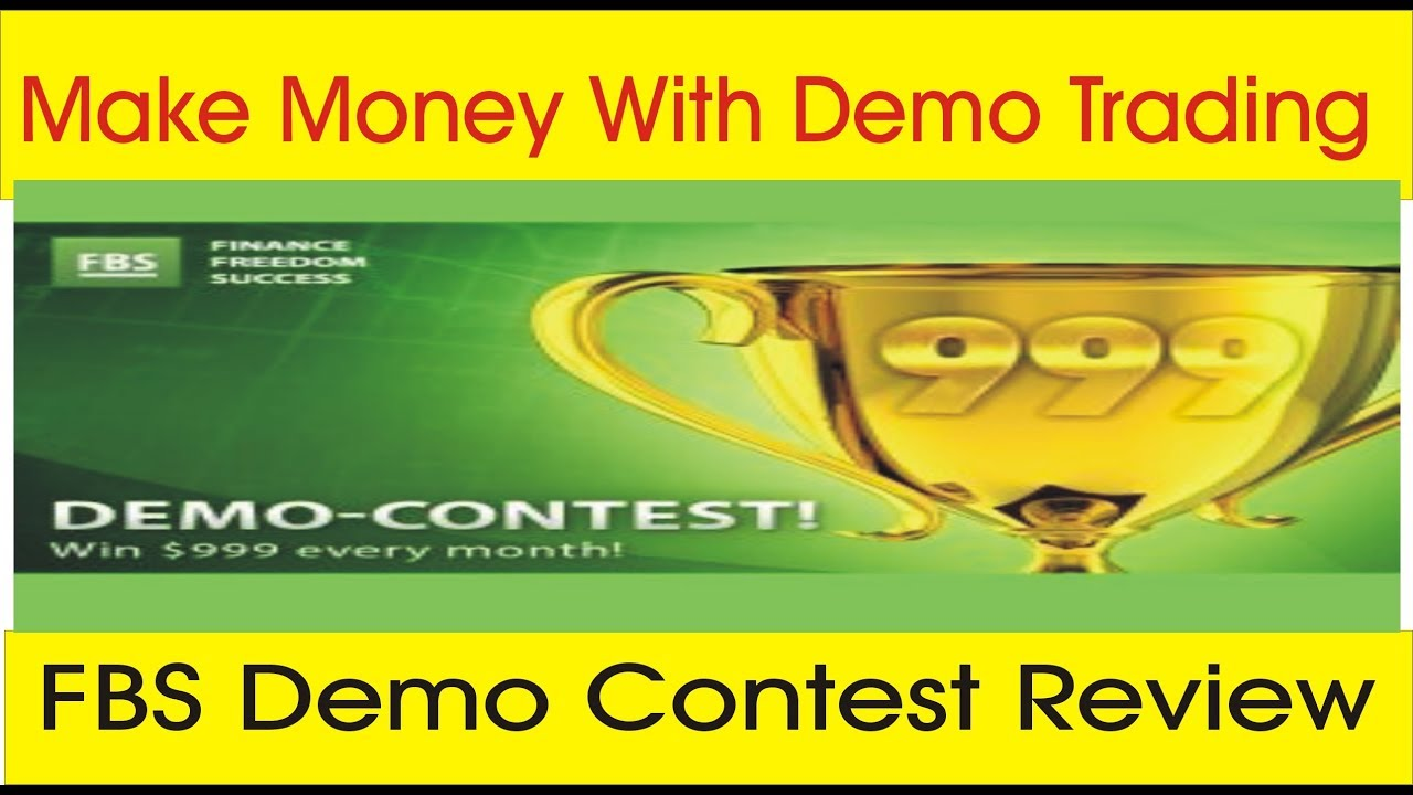 Make Money With Demo Trading Account Fbs Demo Contest Review By Tani Forex In Urdu And Hindi -