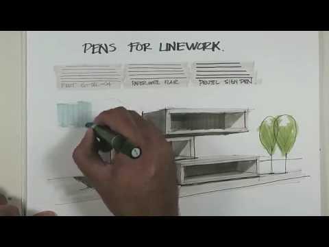 pens for linework