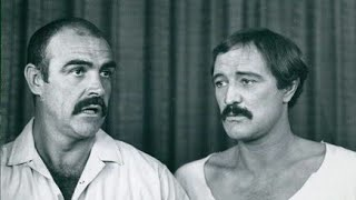 Richard Harris and Sean Connery rare interview