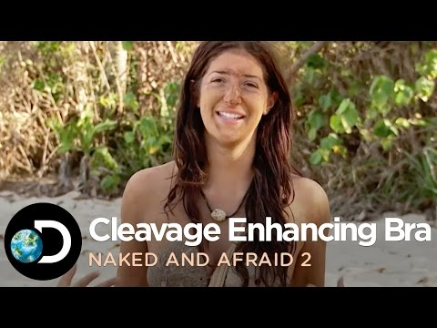 Cleavage Enhancing Coconut Bra - Naked and Afraid S2 - 동영상
