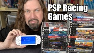 35 Sony PSP Racing Games  GamePlay Footage!