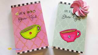 DIY NOTEPAD COVERS | GIFT IDEA | MAYMAY MADE IT DESIGN TEAM PROJECT