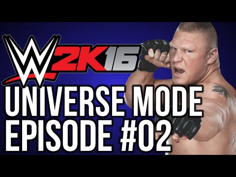 "WWE 2k16 Universe Mode: #02 ""Home Invasion"""