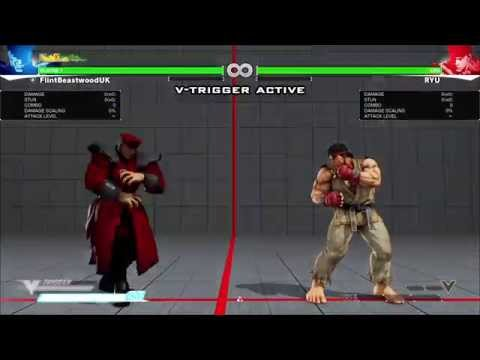 Street Fighter V / 5 Beta - M.Bison Combo Guide