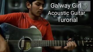 Ed Sheeran Galway Girl Acoustic Guitar Tutorial