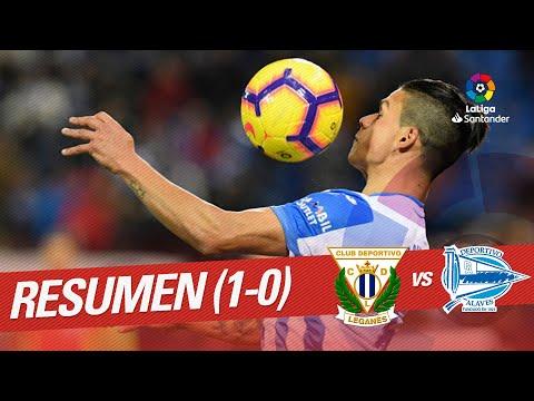 Resumen de CD Leganés vs Deportivo Alavés (1-0)