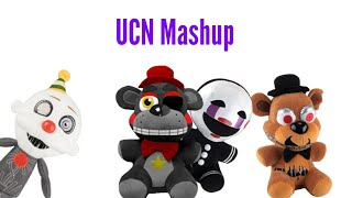 Fnaf UCN Mashup by FBMatrix Plush version