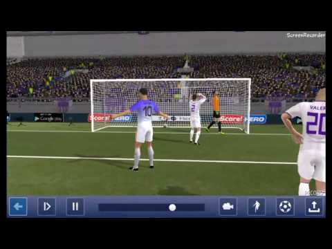 Dream League Soccer (DLS) 2017.My Best Goal Replay