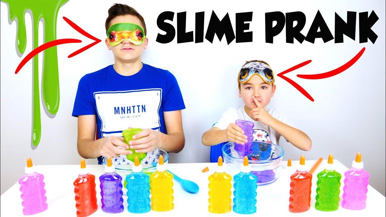 Download BLINDFOLDED SLIME PRANK CHALLENGE - Swan Triche !!!