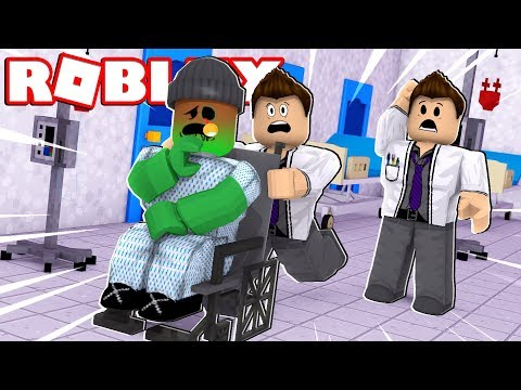 TRANSFORMING INTO A ZOMBIE!!   Roblox Hospital Roleplay