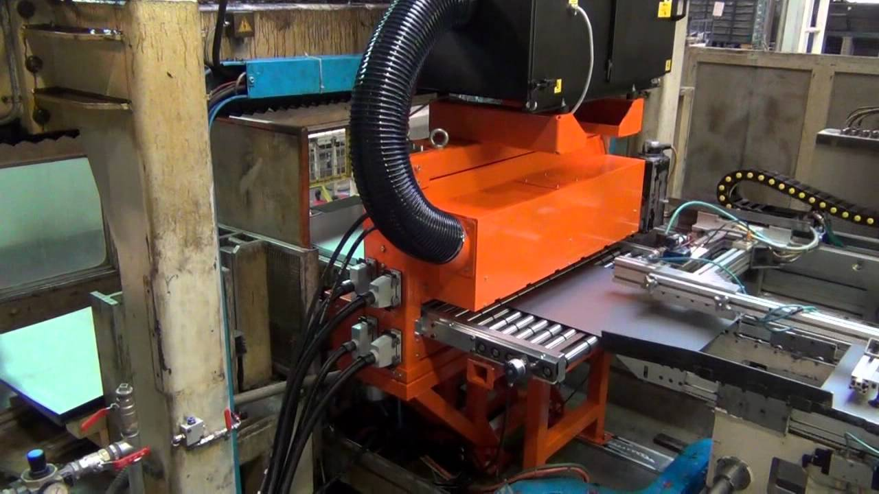 Spray Lubrication For Sheet Metal Dietronic Youtube