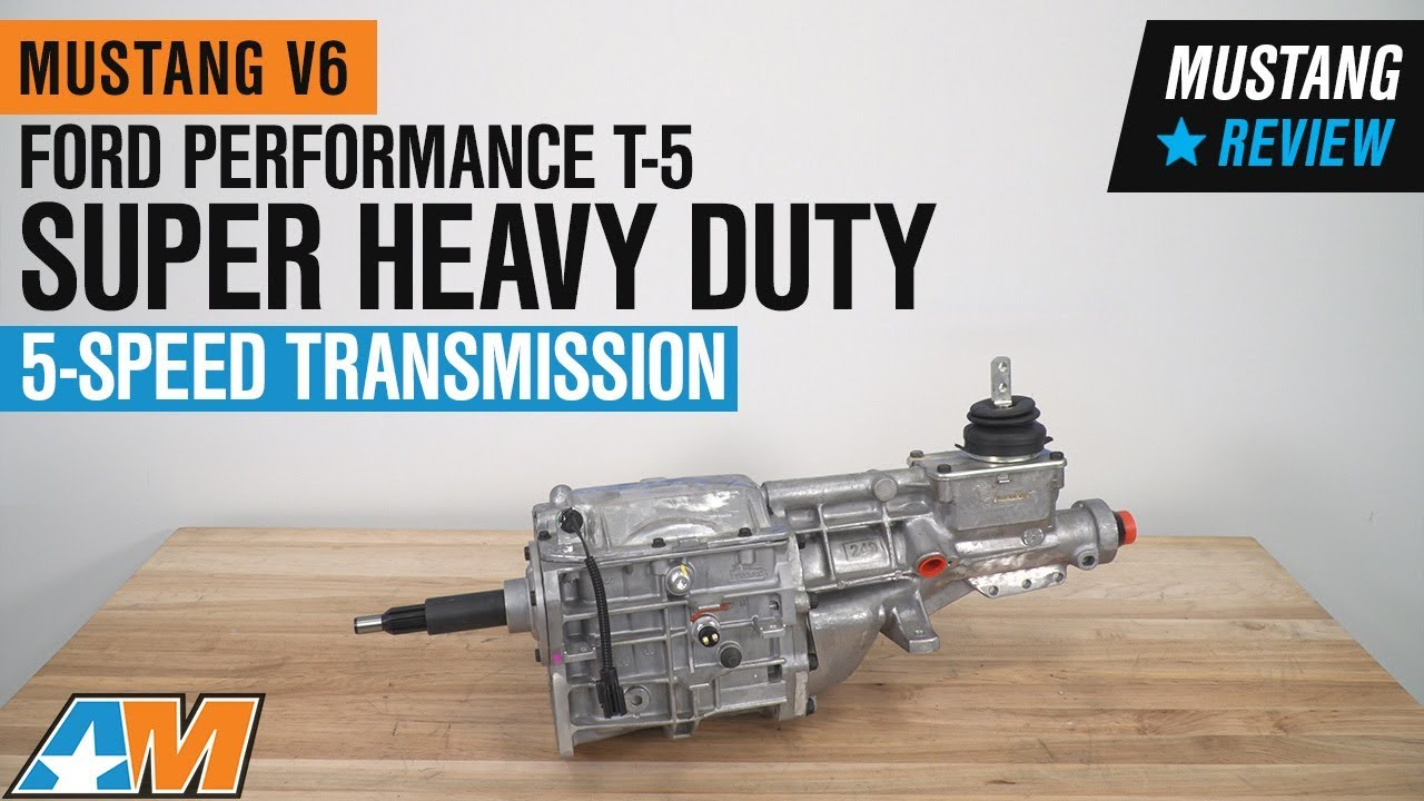 Ford Performance T-5 Super Heavy Duty 5-Speed Transmission