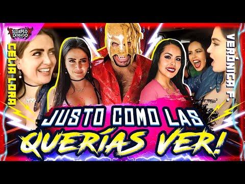 Celia Lora, Verónica Flores & Escorpión Al Volante Perdiendo Prendas ***final Feliz***