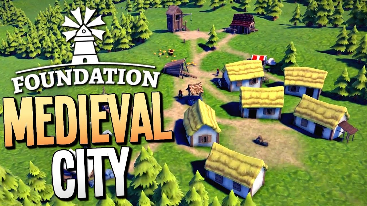 Foundation Polymorph Games building the greatest medieval mega city - foundation gameplay