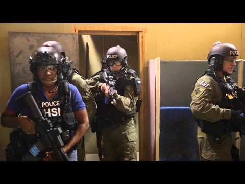 Training With Houston's HSI Special Response Team