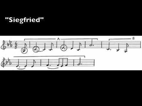 Wagner Leitmotives - 56 - Siegfried