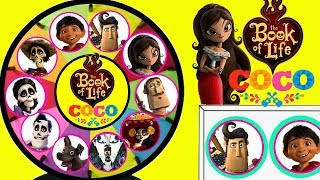 COCO VS The Book Of Life Spinning Wheel Game