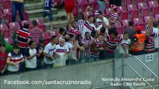 18/07/17 - Santa Cruz 1x0 Vila Nova - Nar. Alexandre Costa, Rádio CBN Recife