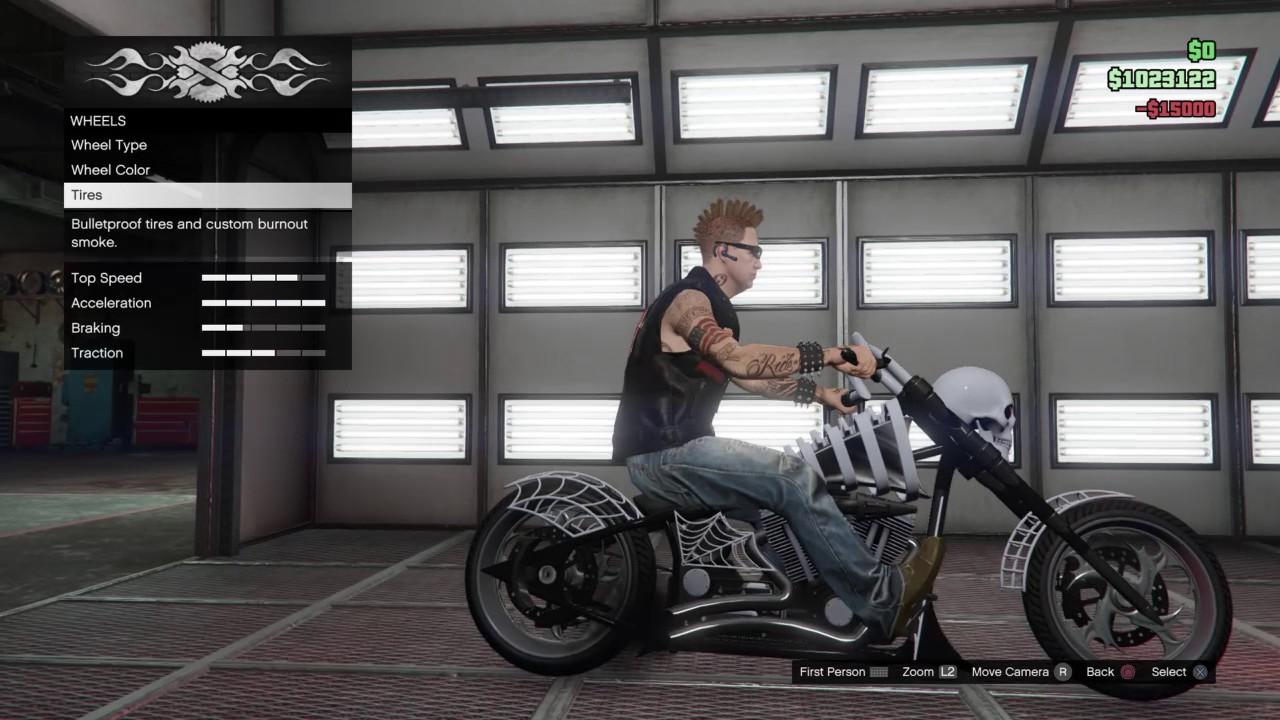 Halloween Bike Gta 5 2020 GTA V Online: Halloween update exploration new skull bike   YouTube