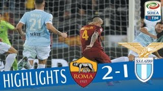 Roma - Lazio 2-1 - Highlights - Giornata 13 - Serie A TIM 2017/18