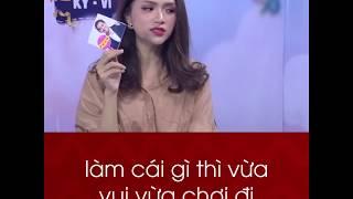 """Miss Hương Giang bất ngờ """" nói xấu """" đồng đội Trường Giang và team Kì Vĩ  quá nghiêm túc và điệu đà"""
