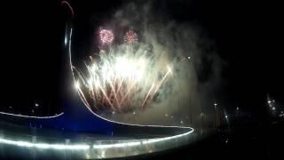 Фейерверк Адлер Олимпийский парк 3