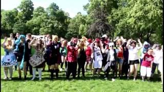 Caramell Flashmob Otakutreff Berlin