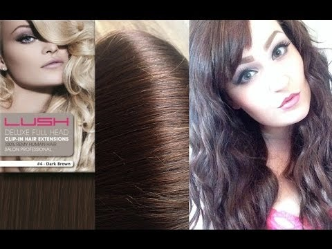 Lush deluxe hair extensions review youtube lush deluxe hair extensions review pmusecretfo Choice Image