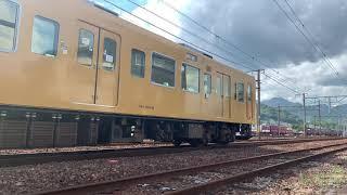 105系 岡オカF-08編成 入場回送 2020/08/14