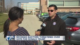 Michigan elector threatened online