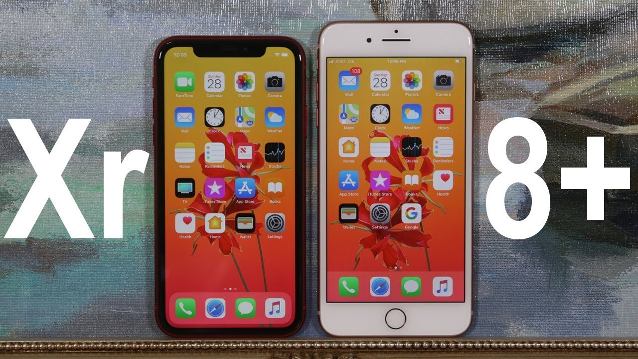 Iphone Xr Vs Iphone 8 Plus Full Comparison Youtube