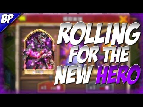 Castle Clash ROLLING 25K F2P GEMS FOR REVENANT (New Hero)