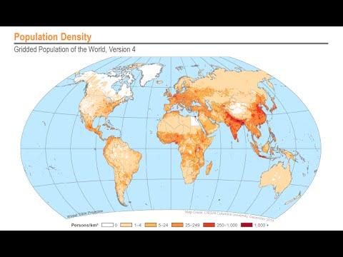 NASA Earthdata Webinar: Discover NASA's Updated Gridded Population of the World Data