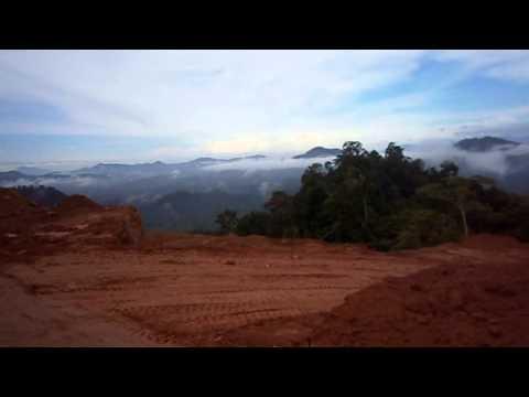 Perlombongan Batu Barite KBSB Kuala Krai Kelantan.