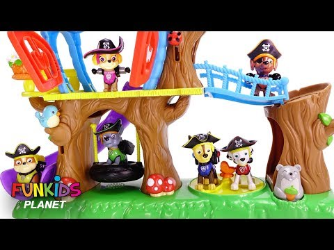Thumbnail: Learn Colors with Paw Patrol Tree House GIANT Surprises