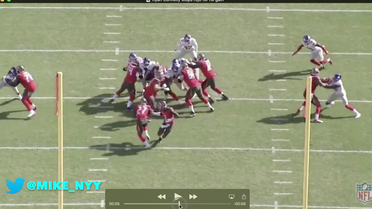 NY Giants Week 3 Film Breakdown vs Buccaneers