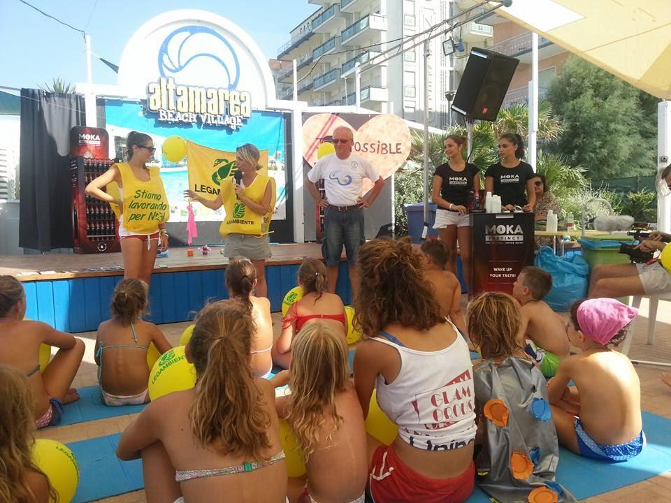 Settimana del reciclo all\'Altamarea Beach Village- eco Bagno di ...