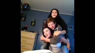 Three Little Piggyback Ride Fail