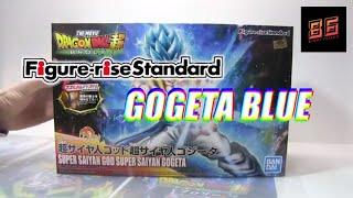 BANDAI Figure Rise Standard Dragon Ball Super Gogeta Blue SPEED BUILD EP.6