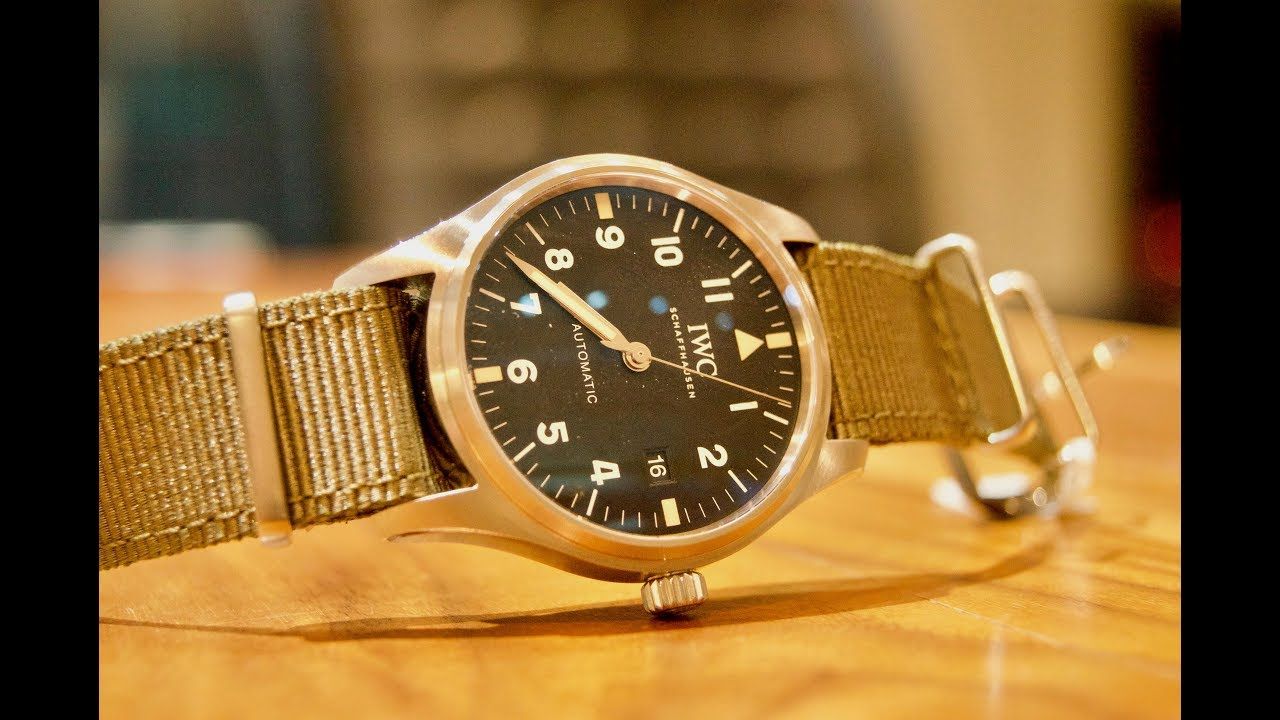 """58724e69521 IN-HOUSE HOMAGE  IWC Pilot s Watch Mark XVIII Edition """"Tribute To Mark XI"""""""