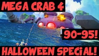 Mega Crab 4: Halloween! ✦ Stages 90-95 + The Final Attacks! ✦ Boom Beach