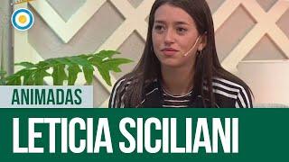 Leti Siciliani en #Animadas (1 de 2)