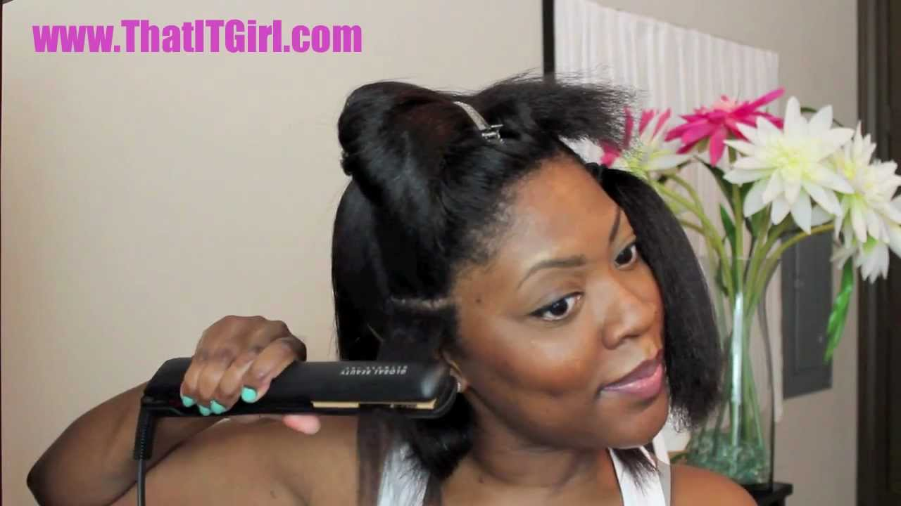 hair chat blow dry & flat